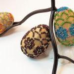 Beaded Easter Egg Pattern, Beading ..