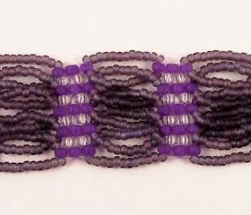 Loop De Loop Bracelet Pattern, Beading Tutorial in PDF