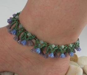 DeVine Anklet, Beading Tutorial in PDF