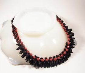 African Mystery Necklace, Beading Tutorial in PDF