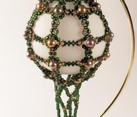 Hot Air Balloon Ornament No. 6, Beading Tutorial in PDF