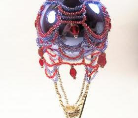 Hot Air Balloon Ornament No.2, Beading Tutorial in PDF