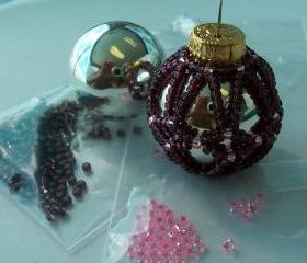 Amethyst and Pink Ornament Kit