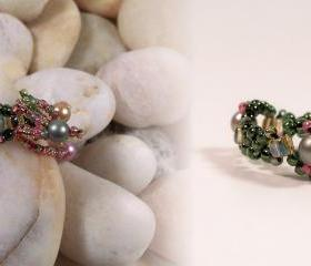 Simply Elegant Ring, Beading Tutorial in PDF